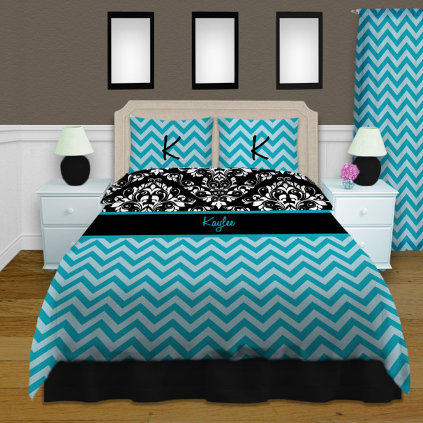 Black And White Twin Size Bedding