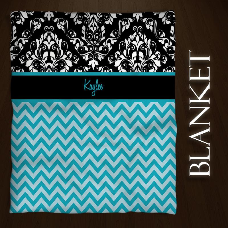 Chevron_Blue_Blanket