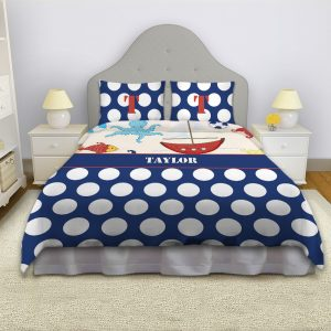 Sailor-Bedding-Red