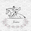 black-white-personalized-horse
