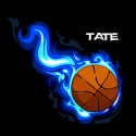 Basketball-Flames