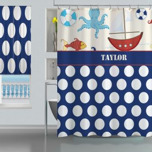 Blue-Nautical-Shower-Curtain