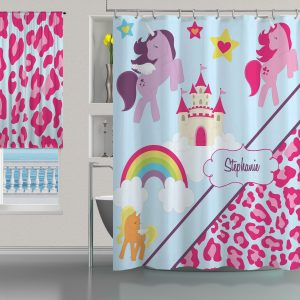 Horse-Leopar-Pink-Shower