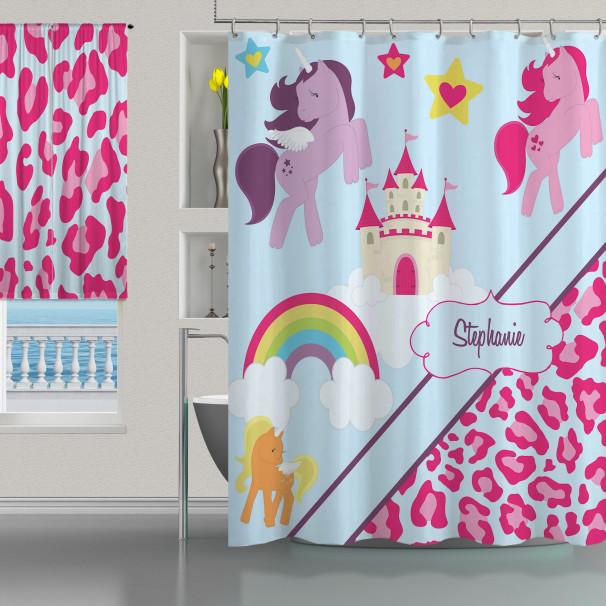 Horse-Leopar-Pink-Shower