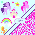 Horse-Rainbow-Cheetah