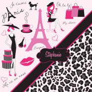 Leopard-Paris-Gray