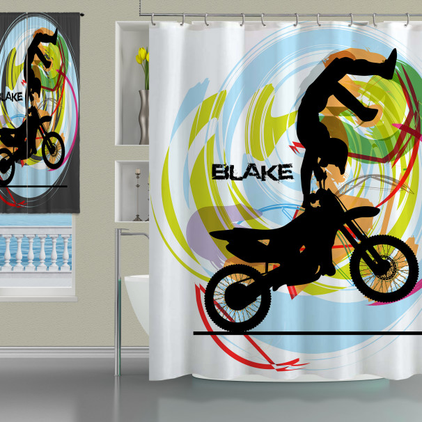 Shower-Curtain-Motocross