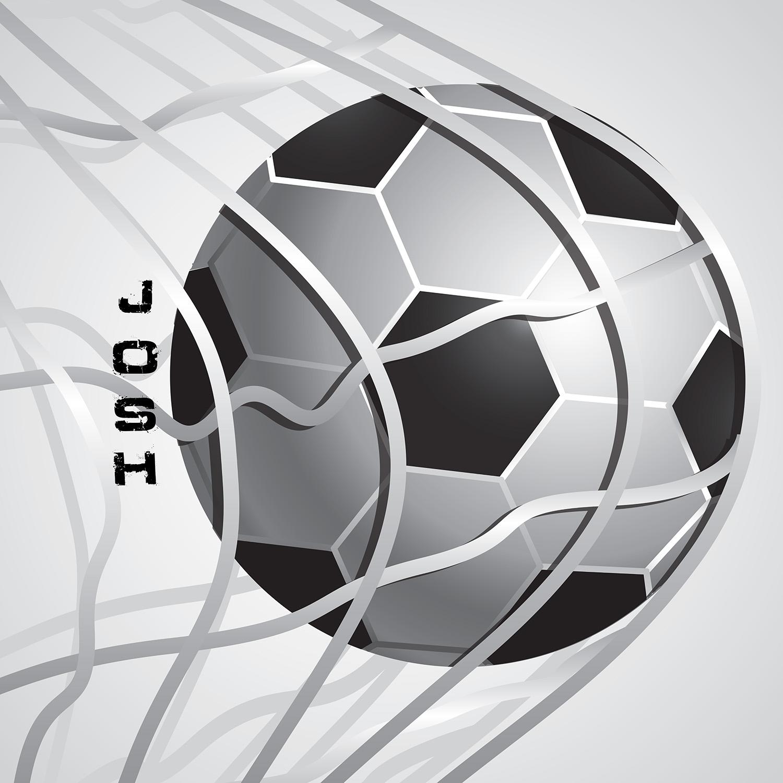 Soccer Boy Shower Curtain