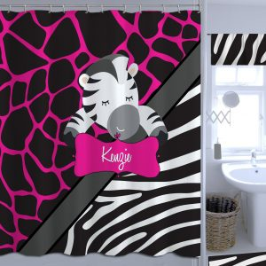 Zebra-Giraff-Shower-Curtains
