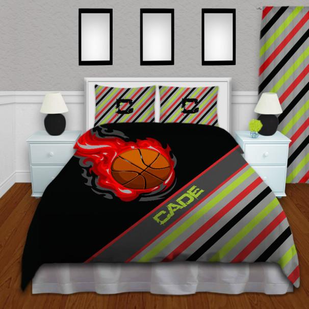 Basketball-Bedroom-Stripe