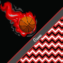 Basketball-Chevron-Red