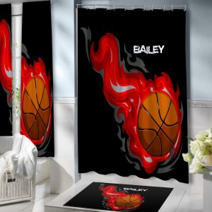 Basketball-Shower-Curtain