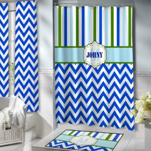 Bathroom-Boys-Blue-Chevron