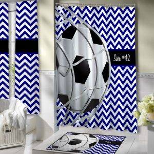 Blue-White-Bathroom-Soccer-Curtain