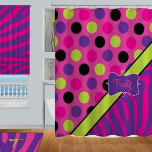 Bright-Color-Shower-Curtain