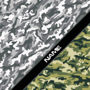Camouflage-Green-White