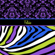 Colorful-Zebra-Print-Damask