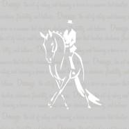 Dressage-Horse-Grey