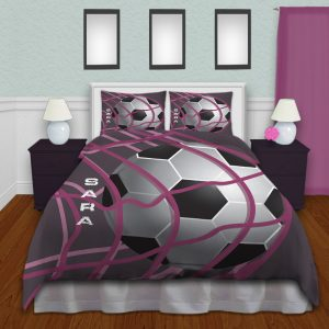 Girl-Soccer-Duvet