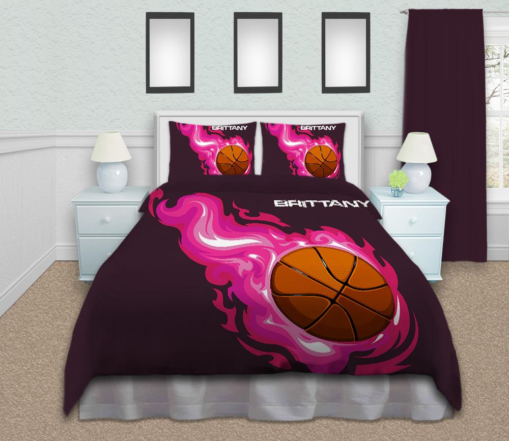 Girls-Basketball-Bedding