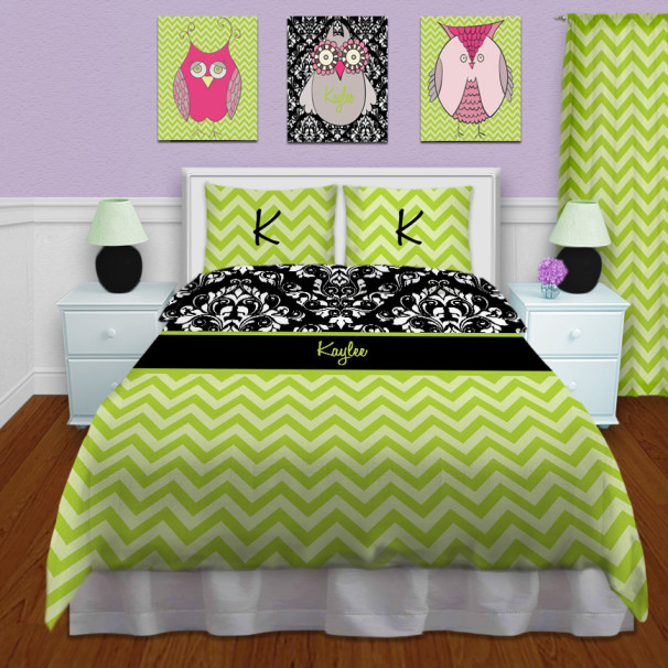 Green-Chevron-Bedding