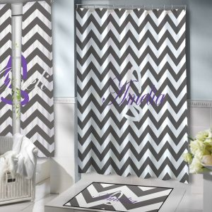 Grey-White-Chevron-Bathroom