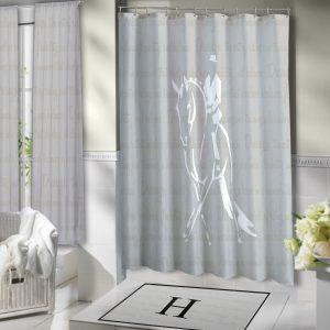 Horse-Equestrian-Curtain