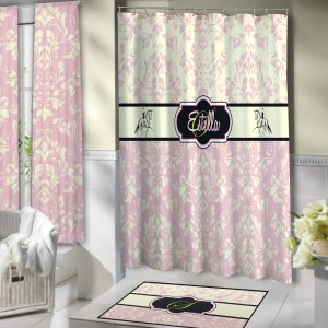Horses-Black-Pink-Bathroom