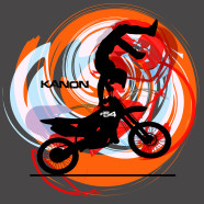 Motocross-Orange-Dirt-Bike
