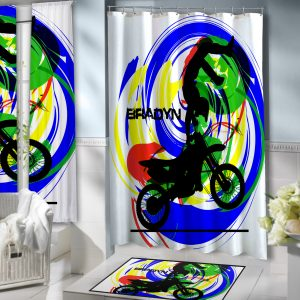 Motocross-Shower-Curtain
