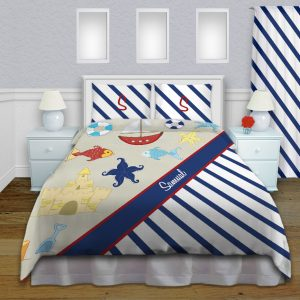 Nautical-Blue-Bedroom