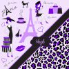 Paris-Purple-Eiffel-Tower