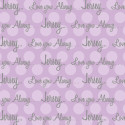 Personalized-Dots-Blanket