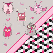Pink-Owl-Girly