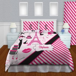Pink-Paris-Eiffel-Tower-Duvet
