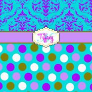 Purple-Teal-Dots-Damask