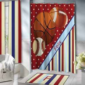 Shower-Red-Blue-Sport