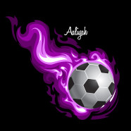 Soccer-Flames-Purple
