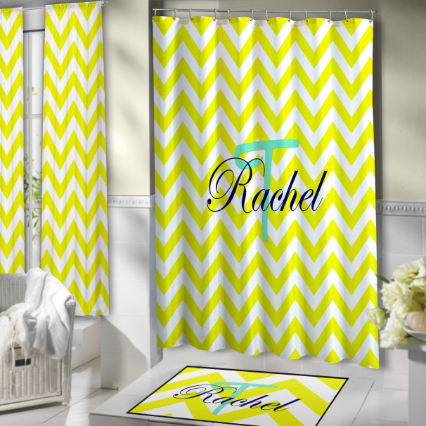 Teal-Yellow-Blue-Curtain