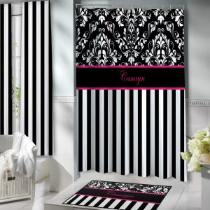 White-Black-Stripes