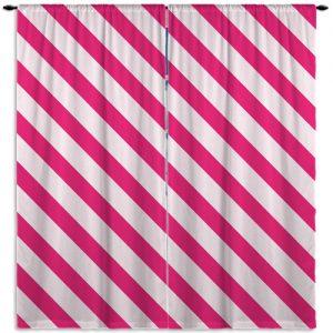 Paris_Stripes_Pink_WindowCurtains