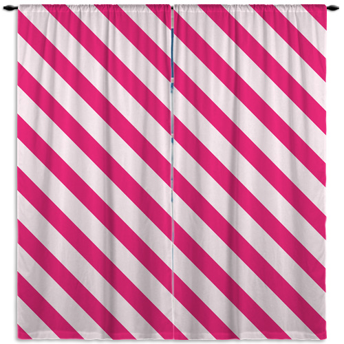 Paris_Stripes_Pink_WindowCurtains