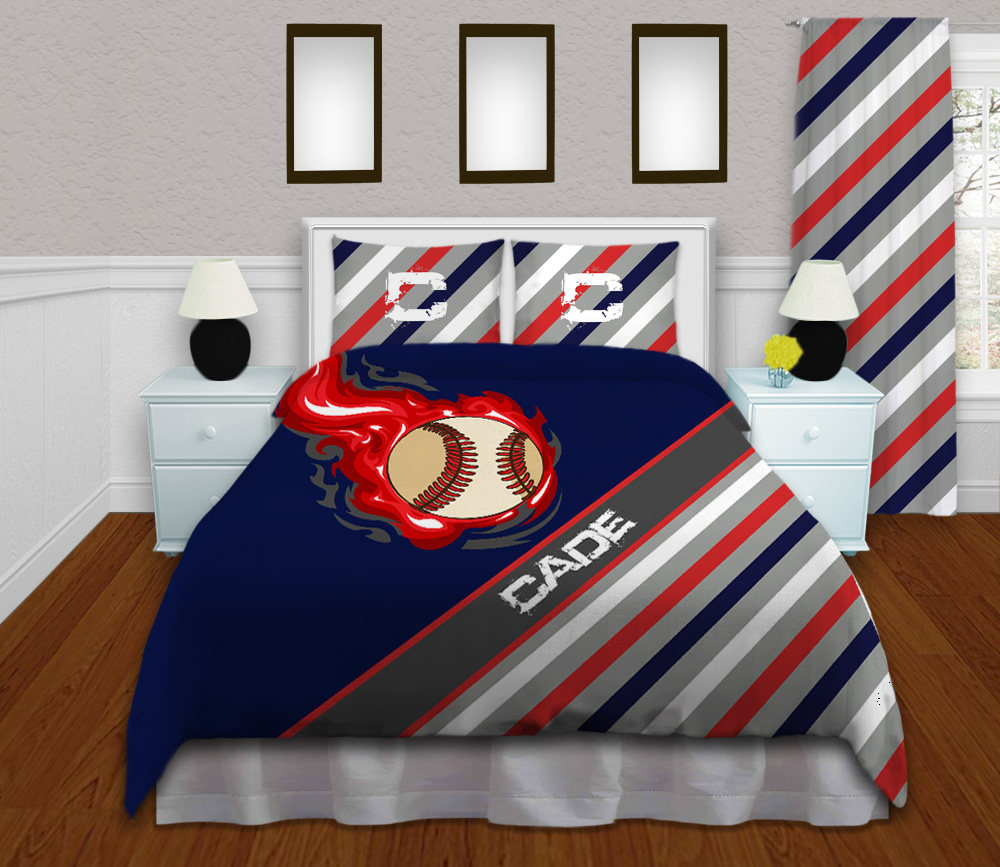 Baseball Bedding Set For Kids In Queen King And Twin Sizes 159