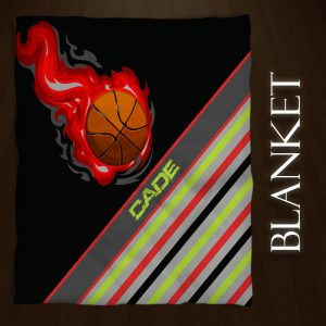 Basketball-Stripe-Sports-Throw