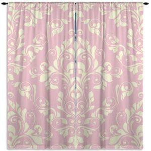 Beige-Pink-Damask-Window-Curtain