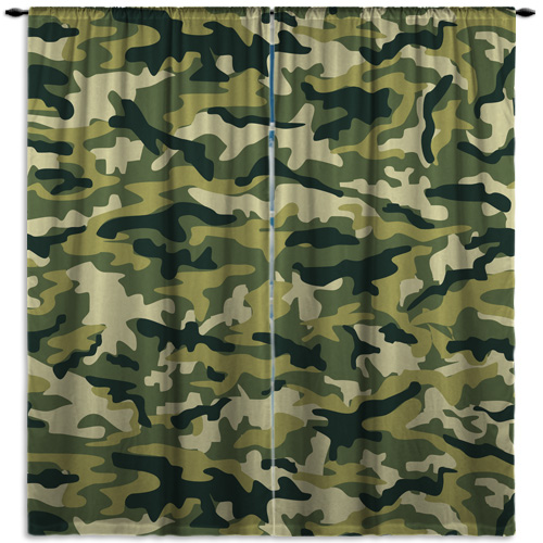 Camouflage-Green-Curtains