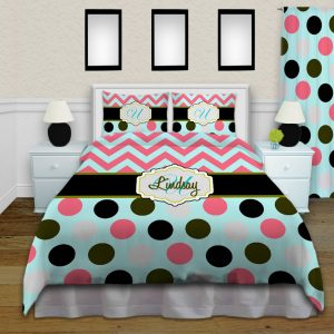 Coral-Blue-Duvet-Dot
