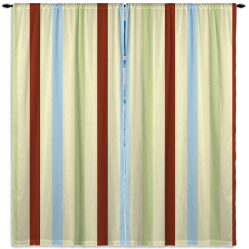 Curtain-vertical-stripe