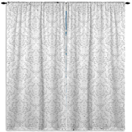Damask-Gray-Pattern-Curtain