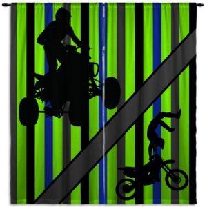 Dirt-Bike-ATV-Green-Home-Decor
